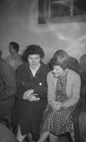 May 1960; Two women at a dance in Millstreet.