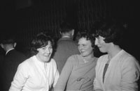 1st November 1962; People enjoying the night at a dance which took place at the Hotel Manhattan.