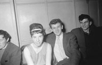 1st November 1962; People enjoying the night at a dance which took place at the CYMS Hall in Tralee.