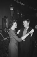 31st January 1962; People enjoying the night at a Fianna Fáil Dance which took place in Castleisland.