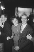11th November 1962; People enjoying the night at a dance which took place in Brosna. Music at the dance was provided by The Crackaways.
