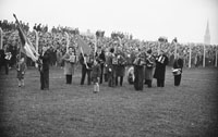 11th November 1962; A photo taken at the Senior County Championship Final Replay between Feale Rangers and John Mitchels. The final score in the match was John Mitchels 1-9 to Feale Rangers 0-5.