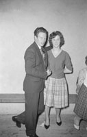 4th February 1962; People enjoying themselves at a dance which took place in Milltown.