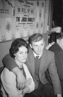 11th November 1962; People enjoying the night at a dance which took place in Ballymacelligott. Music at the dance was provided by Jimmy McCarthy and his orchestra.