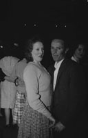 25th February 1962; People enjoying the night at a dance which took place in Ballyheigue.
