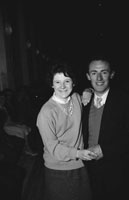 25th February 1962; People enjoying the night at a dance which took place in Ardfert.