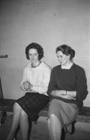 21st February 1962; People enoying the night at a dance which took place in Milltown.