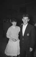 23rd February 1962; People enjoying themselves at the Gortatlea Drama Club Dance which took place at the Ashe Memorial Hall in Tralee.