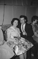 25th February 1962; People enjoying themselves at a dance which took place at the CYMS in Tralee.