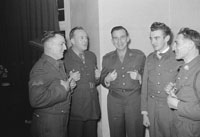 3rd March 1962; Members of the FCA pose for the camera at the Social which took place at the Hotel Manhattan.