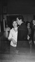 20th December 1962; People enjoying the night at a dance which took place in Ballyduff.