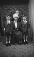 June 1962; A family Communion photo taken at the studio in Tralee.