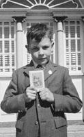 September 1962; A photo taken on Communion Day in Castleisland.