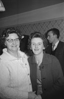 December 1962; A photo taken at a wedding party which took place at a house in St. John's Park in Tralee.