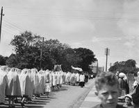 24th June 1962; The Corpus Christi Procession takes place in Tralee.
