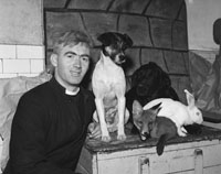 A Priest With Animals