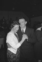 19th December 1962; People enjoying the night at the Dairy Queen of Munster Dance which took place in Abbeydorney.