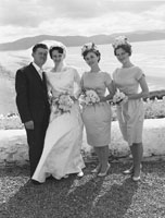 September; A photo taken at the Kennedy/O'Shea Wedding which took place at the church in Annascaul and was followed by the reception in the Strand Hotel in Inch.