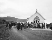 Blessing the Newly Renovated Church In Curraheen