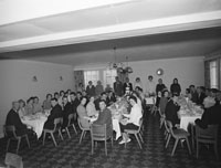 September 1962; A photo taken at the Healy/Kelly wedding reception in the Meadowlands Hotel, Tralee. The couple were married in Cloghers Church, Ballymacelligott.
