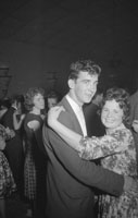 19th September 1962; People enjoying the night at a dance in Castleisland.