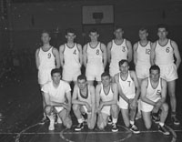 The Ulster Basketball Team