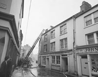 Fire At Cournane's Provision Store