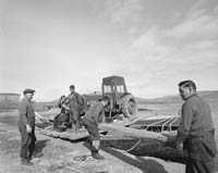 Tractor Being Ferried To Valentia