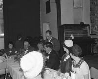 June 1964; A wedding reception in the Hotel Manhattan, Tralee.
