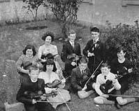 Micheal O'Duinn's Violin Students