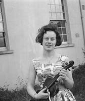 Violin Student Joan O'Reilly