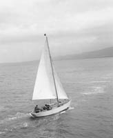 Jerry O'Sullivan on his Sailboat