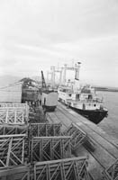 Liebherr Cranes being Shipped from Fenit
