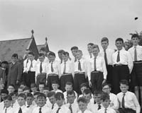 28th June 1964; A photo of a group performing at Ballinskelligs Feis.