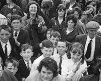 28th June 1964; A photo of the crowd enjoying themselves at Ballinskelligs Feis.