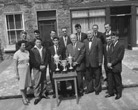 Trophies for Dingle Regatta