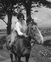 Helen Sweeney and her Horse
