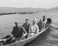 Currachs at Ballydavid