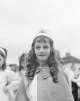 10th-12th August 1964; A photo of the Queen of Puck at Puck Fair in Killorglin.
