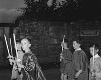 10th-12th August 1964; A photo of the parade at Puck Fair in Killorglin.