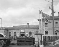 The CIE Depot in Tralee