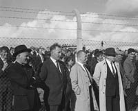 September 1964; Selectors at the Kerry Trial Match choose the team to play Galway in the All-Ireland Final. From left: Fr Curtin, Tom Spillane, Johnny Walsh,  John Joe Sheehy.