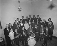 19th-20th September 1964; A photo of the prize-winners and organisers of the Fleadh Ceoil in Castleisland.