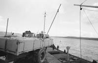 Unloading Sag in Tarbert