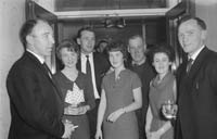 9th January 1964; People enjoying themselves at the Tarbert Milk Suppliers Dance in the Hotel Manhattan, Tralee.