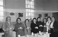 January 1964; A photo taken at an ICA Federation meeting.