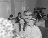 November 1964; A photo taken at the Lyons/O'Grady wedding reception.