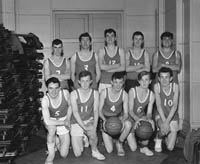 A Photo of a Basketball Team