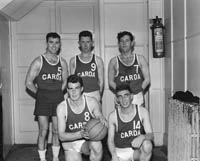 The Dublin Garda Basketball Team