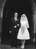 23rd November 1964; A photo taken at the Lane wedding.